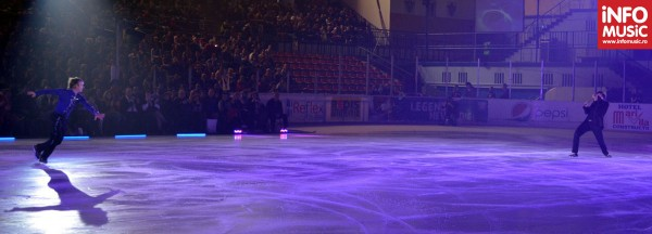 Edvin Marton și Evgeni Plushenko la București în Kings on Ice 2012