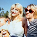 Kurt Cobain-Courtney Love-Frances Bean