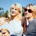 Kurt Cobain-Courtney Love-Frances Bean