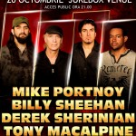 MIKE PORTNOY, BILLY SHEEHANTONY, MACALPIN,E DEREK SHERINIAN, live la Bucuresti