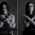 Natalie Portman şi Johnny Depp protagonisti in clipul My Valentine