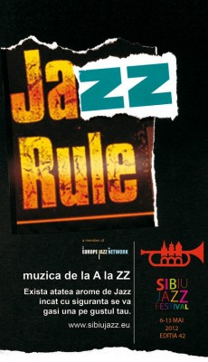 Poster eveniment Sibiu Jazz Festival 2012