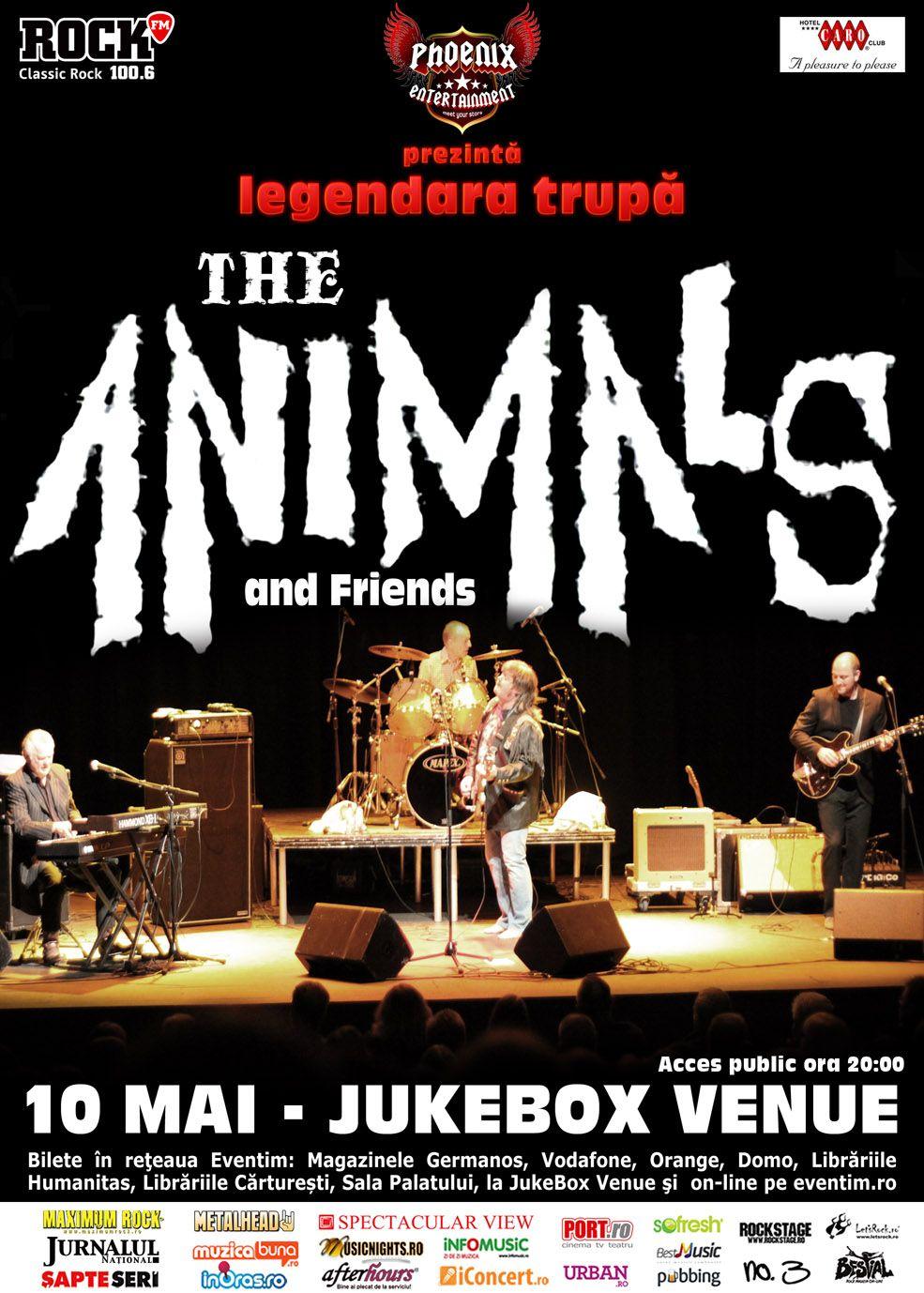 The Animals concerteaza in Jukebox