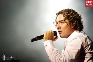David Bisbal în concert la București (22 aprilie 2012)