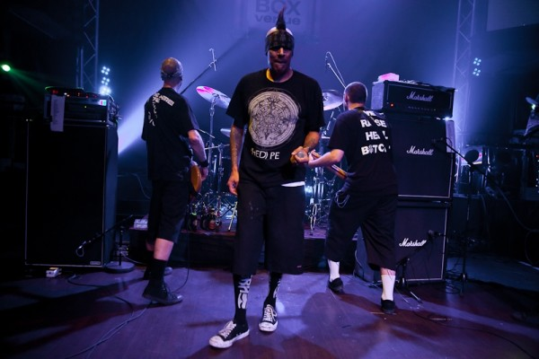 Hed Pe (Juekebox Venue, 06-04-2012, Foto: RockFM)