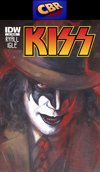 KISS - Comic Book