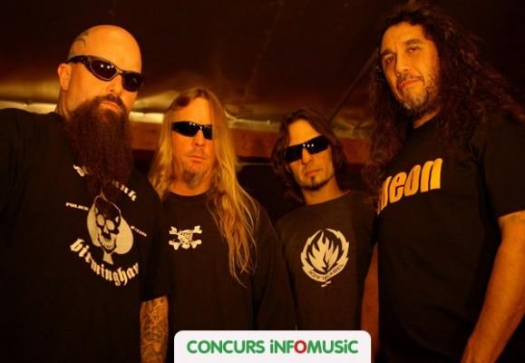 CONCURS cu invitatii la concertul Slayer la Bucuresti