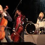 Apocalytica a concertat la Arenele Romane din Bucuresti pe 13 mai 2012