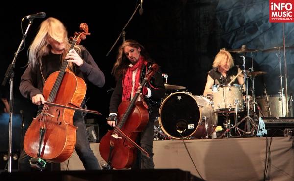 Apocalyptica a concertat la Arenele Romane din Bucuresti pe 13 mai 2012