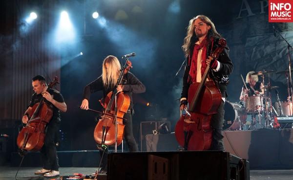 Finlandezii de la Apocalyptica în concert la București