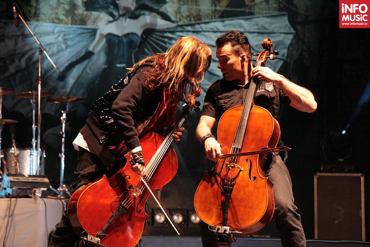 Concertul Apocalyptica de la Arenele Romane, 13 mai 2012