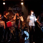 Cvartetul Passione alături de trupa Sarmalele Reci in concert la Hard Rock Cafe
