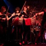Cvartetul Passione alaturi de trupa Sarmalele Reci in concert la Hard Rock Cafe
