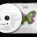 CD-ul și coperta noului album VAMA - 2012