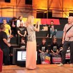 Fotografii cu Dan Popi și Costi Ioniță înaintea conferinței de presă Mandinga - Eurovision 2012 - TVR
