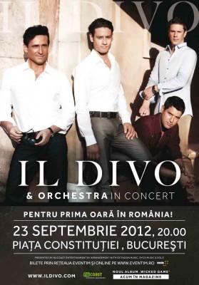 Poster eveniment Il Divo