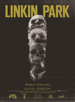 Linkin-Park concerteaza in Romania