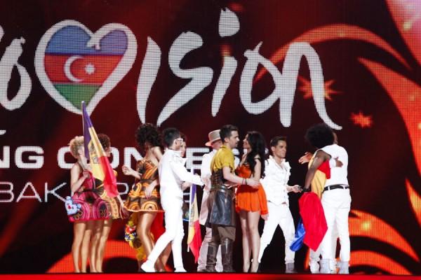 Romania pe scena Eurovision 2012 - semifinala 1