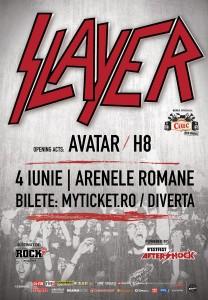 Slayer concerteaza la Bucuresti