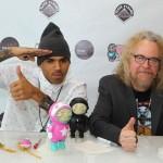 Chris Brown & Ron English - lansare jucării Dum English și expoziție de artă