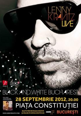 Lenny Kravitz la Bucuresti