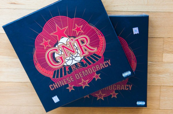 Boxset GUNS N'ROSES - Chinese Democracy