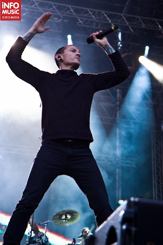 Linkin Park, București 2012
