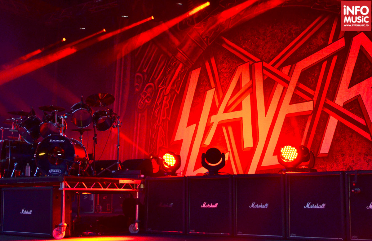 În așteptarea lui Slayer la Arenele Romane