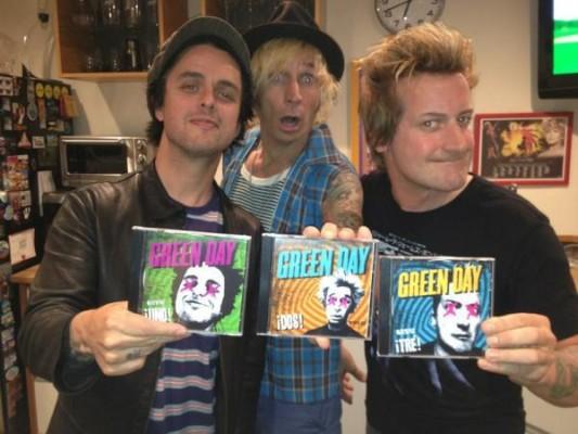 Green Day prezinta trilogia ¡Uno! ¡Dos! ¡Tré!