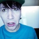 Marilyn Manson pe platourile de filmare a scurt metrajului Born Villain