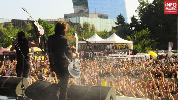 Lake of Tears la finalul conertului de la OST Fest 2012