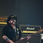 """Ian """"Lemmy"""" Kilmister, solistul Motörhead, în concert la București pe 17 iunie 2012"""