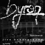 byron Live Undeground Timisoara