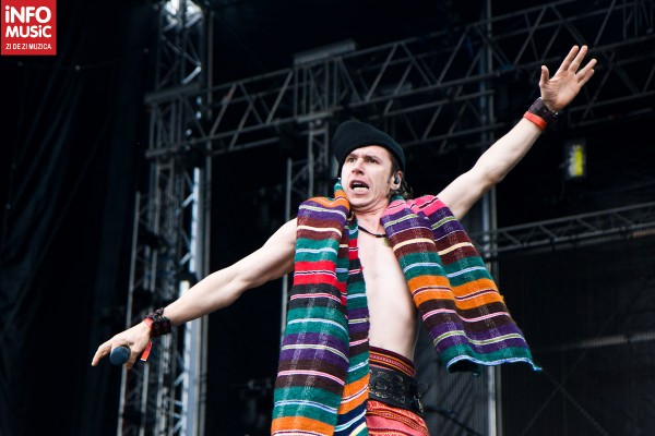 Roman Iagupov, solistul Zdob și Zdub în deschidere la Linkin Park