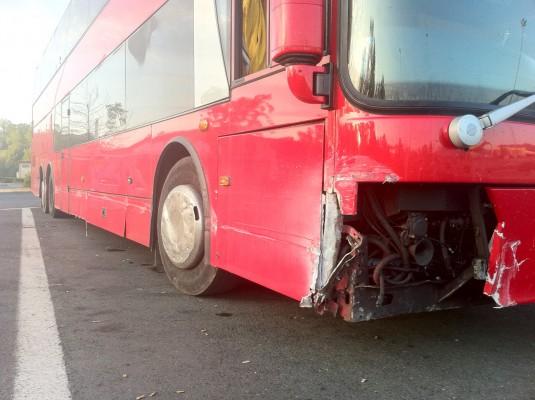 Autocar The Cult accidentat