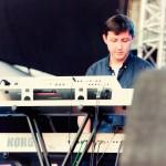 Grimus in deschiderea concertului Roxette, Cluj, 19 iulie 2012 (foto Alina Todea)