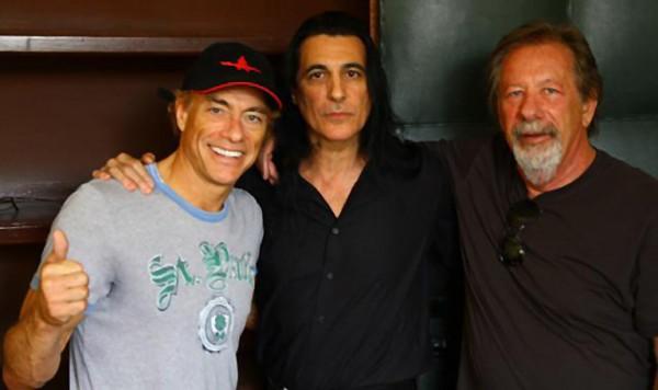 Van Damme, Joey DeMaio si producatorul Moshe Diamant