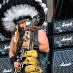Zakk Wylde plin de pene pe scena Rock the City 2012 la concertul Black Label Society
