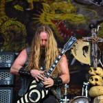 Zakk și chitara - una dintre cele mai bune perechi din lume (Rock the City 2012, Romexpo)