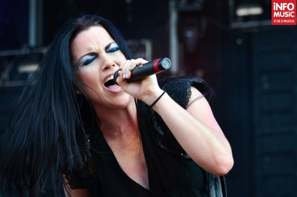 Amy Lee, Evanescence în concert la Rock the City 2012