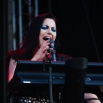 Amy Lee la clape, Concert Evanescene in Bucuresti la Rock the City 2012