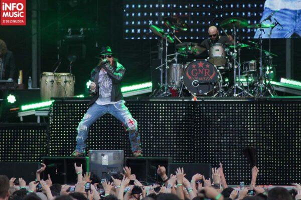 Guns N'Roses în concert la București pe 1 iulie 2012 – Rock The City