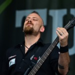 Marco Coti Zelati la bass, Lacuna Coil (Rock the City 2012, Romexpo)