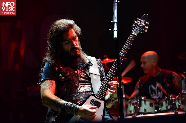 Robb Flynn, Machine Head la București - Rock the City 2012