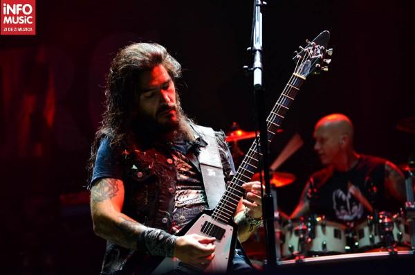 Robb Flynn, Machine Head la București - Rock the City 2012