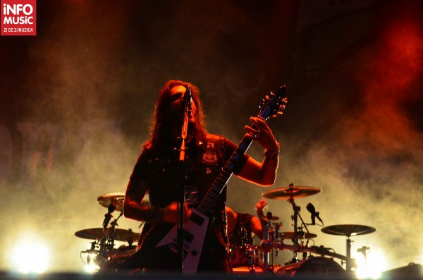Robb Flynn - Concert Machine Head la Rock the City 2012, Romexpo