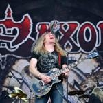 Biff Byford și Saxon în concert la București (Rock the City 2012, Romexpo)