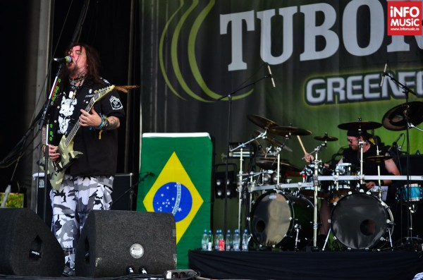 Max Cavalera, Soulfly la București - Rock The City 2012