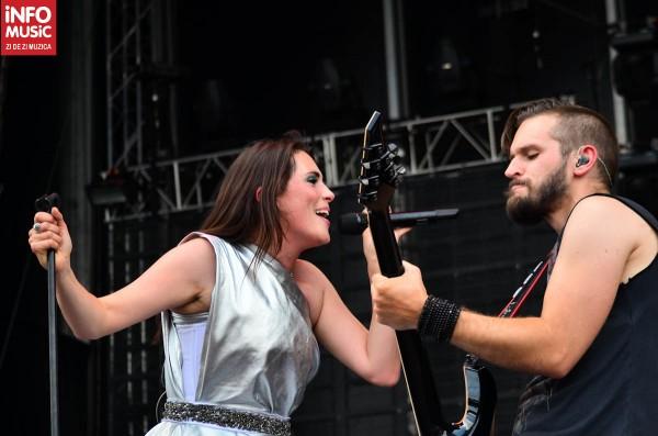 Within Temptation în concert la Rock the City 2012