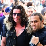 Ian Astbury (The Cult) alături de Coyotu (Trooper)